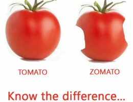 Tomato Versus Zomato